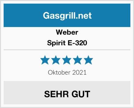 Weber Spirit E-320 Test