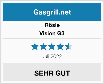 Rösle Vision G3 Test