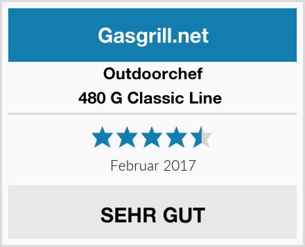Outdoorchef 480 G Classic Line  Test