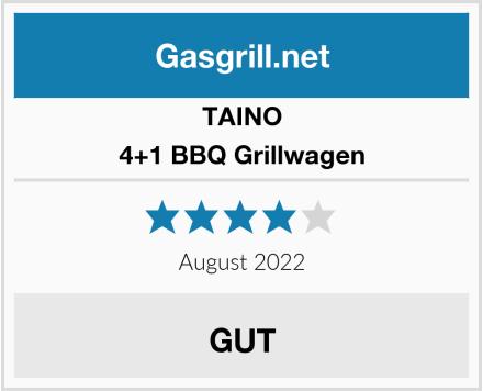 TAINO 4+1 BBQ Grillwagen Test