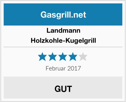 Landmann Holzkohle-Kugelgrill Test