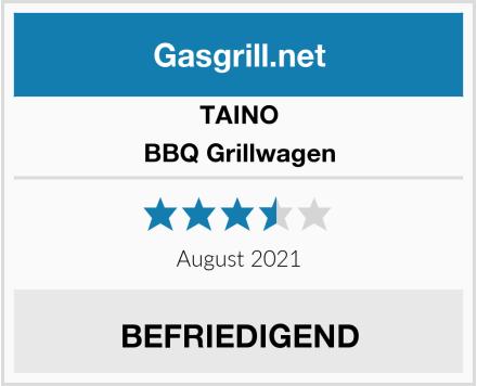 TAINO BBQ Grillwagen Test
