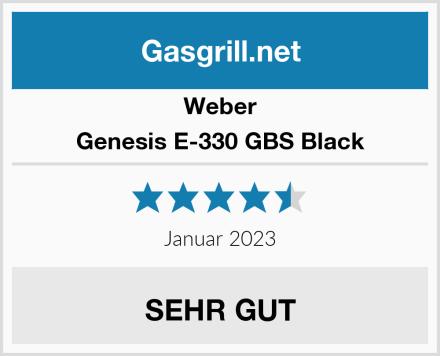 Weber Genesis E-330 GBS Black Test
