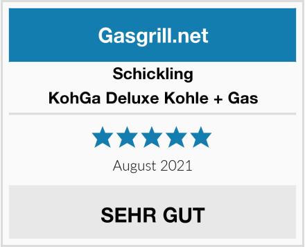 Schickling KohGa Deluxe Kohle + Gas Test