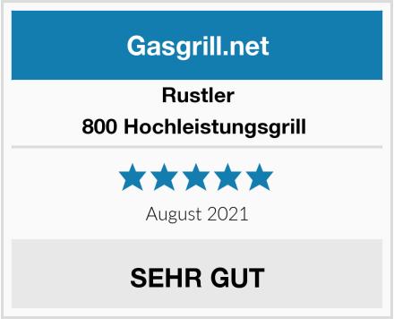 Rustler 800 Hochleistungsgrill  Test