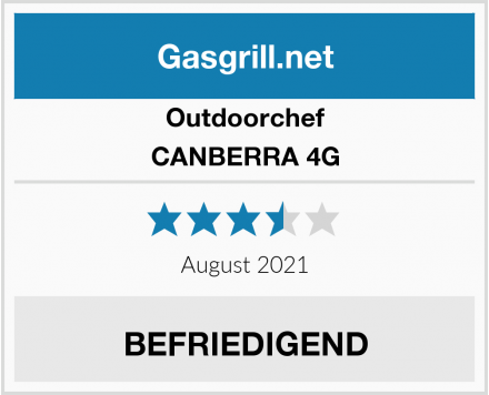 Outdoorchef CANBERRA 4G Test