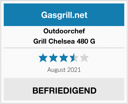 Outdoorchef Grill Chelsea 480 G Test