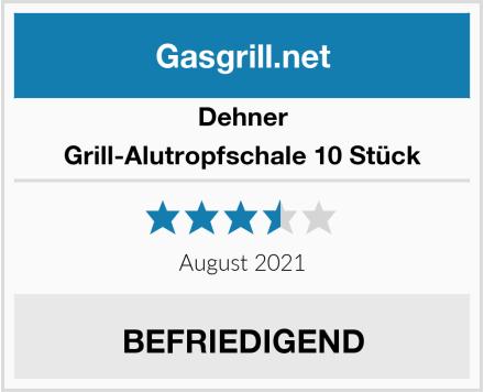 Dehner Grill-Alutropfschale 10 Stück Test