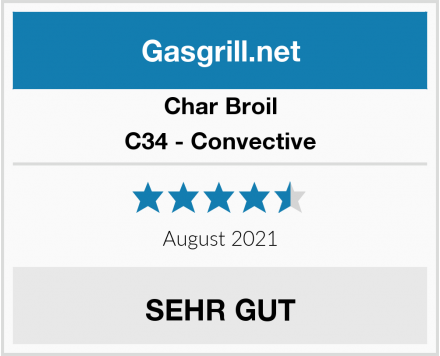 Char Broil C34 - Convective Test
