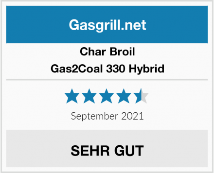 Char Broil Gas2Coal 330 Hybrid Test