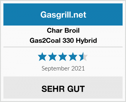 Char Broil Gas2Coal 330 Hybrid Test