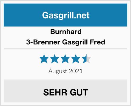 Burnhard 3-Brenner Gasgrill Fred Test