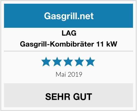 LAG Gasgrill-Kombibräter 11 kW Test