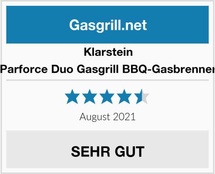 Klarstein Parforce Duo Gasgrill BBQ-Gasbrenner Test