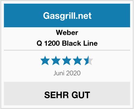 Weber Q 1200 Black Line Test