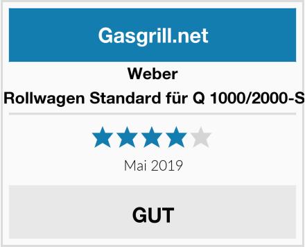 Weber 6557 Rollwagen Standard für Q 1000/2000-Serien Test