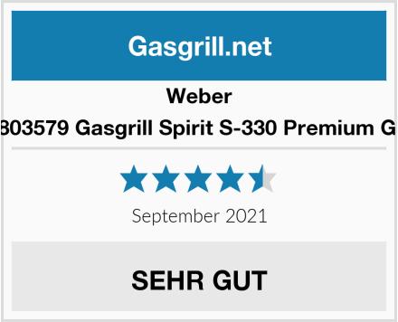 Weber Gasgrill Spirit S-330 Premium GBS 46803579 Edelstahl Test