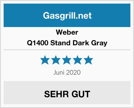 Weber Q1400 Stand Dark Gray Test