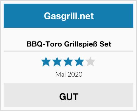 BBQ-Toro Grillspieß Set Test