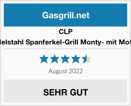 CLP Edelstahl Spanferkel-Grill Monty- mit Motor Test