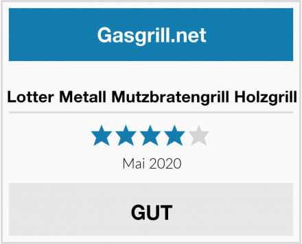 No Name Lotter Metall Mutzbratengrill Holzgrill Test