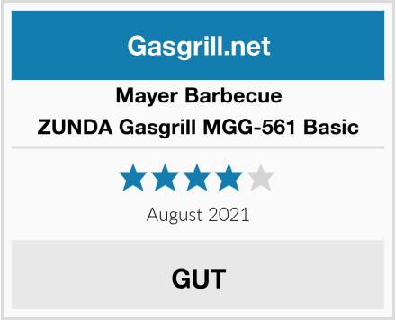Mayer Barbecue ZUNDA Gasgrill MGG-561 Basic Test