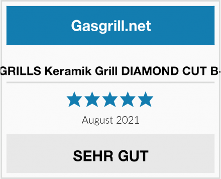 No Name VISION GRILLS Keramik Grill DIAMOND CUT B-SERIES Test