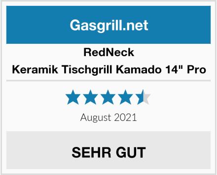 "RedNeck Keramik Tischgrill Kamado 14"" Pro Test"