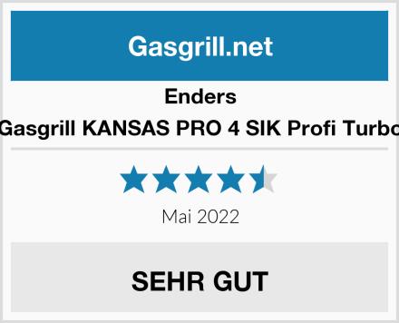 Enders Gasgrill KANSAS PRO 4 SIK Profi Turbo Test