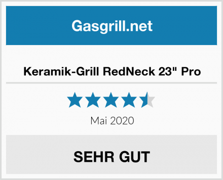 "Keramik-Grill RedNeck 23"" Pro Test"