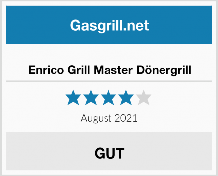 No Name Enrico Grill Master Dönergrill Test