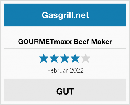 GOURMETmaxx Beef Maker Test