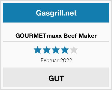 GOURMETmaxx Beef Maker Test