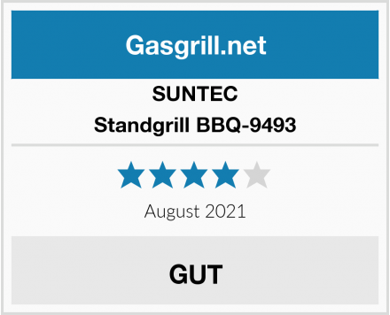 Sunset Standgrill BBQ-9493 Test