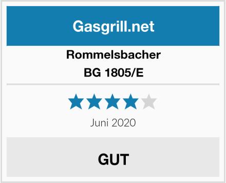 Rommelsbacher BG 1805/E Test