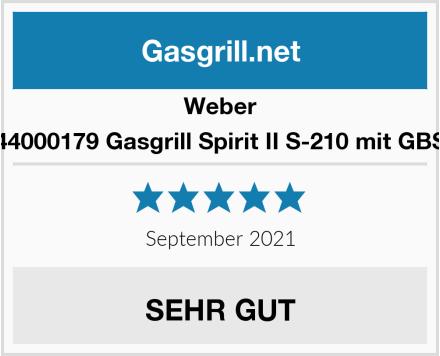Weber Spirit II S-210 mit GBS Gasgrill Test