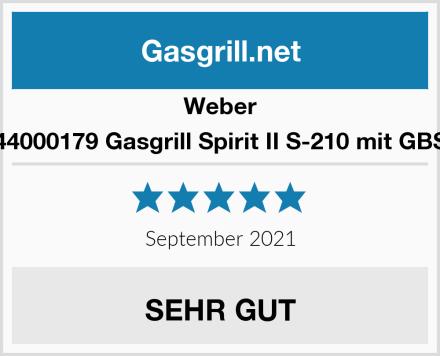 Weber 44000179 Gasgrill Spirit II S-210 mit GBS Test