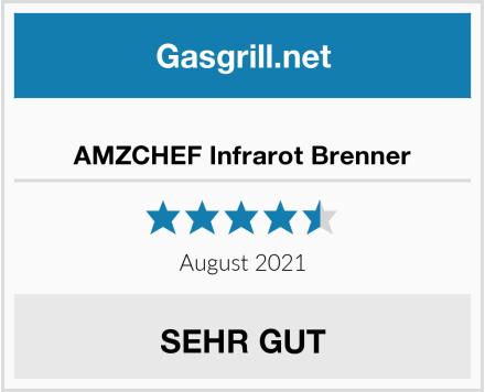 AMZCHEF Infrarot Brenner Test