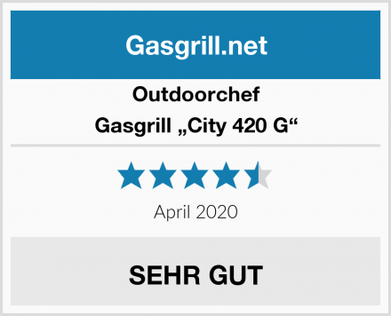 "Outdoorchef Gasgrill ""City 420 G"" Test"