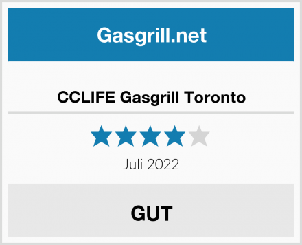 CCLIFE Gasgrill Toronto Test