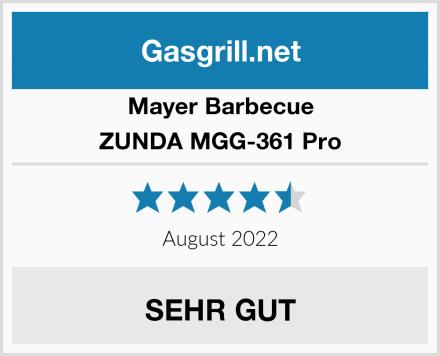 Mayer Barbecue ZUNDA MGG-361 Pro Test