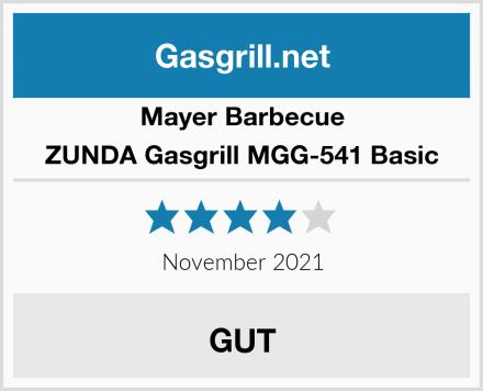 Mayer Barbecue ZUNDA Gasgrill MGG-541 Basic Test