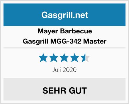 Mayer Barbecue Gasgrill MGG-342 Master Test