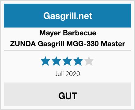 Mayer Barbecue ZUNDA Gasgrill MGG-330 Master Test