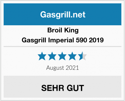 Broil King Gasgrill Imperial 590 2019 Test
