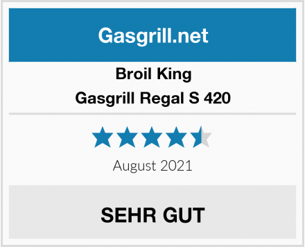 Broil King Gasgrill Regal S 420 Test