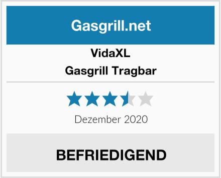 vidaXL Gasgrill Tragbar Test