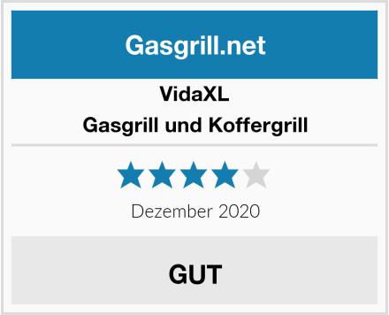 vidaXL Gasgrill und Koffergrill Test