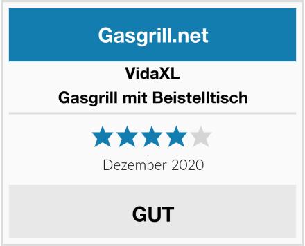vidaXL Gasgrill mit Beistelltisch Test