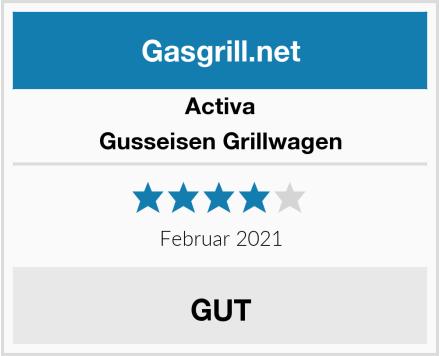 Activa Gusseisen Grillwagen Test